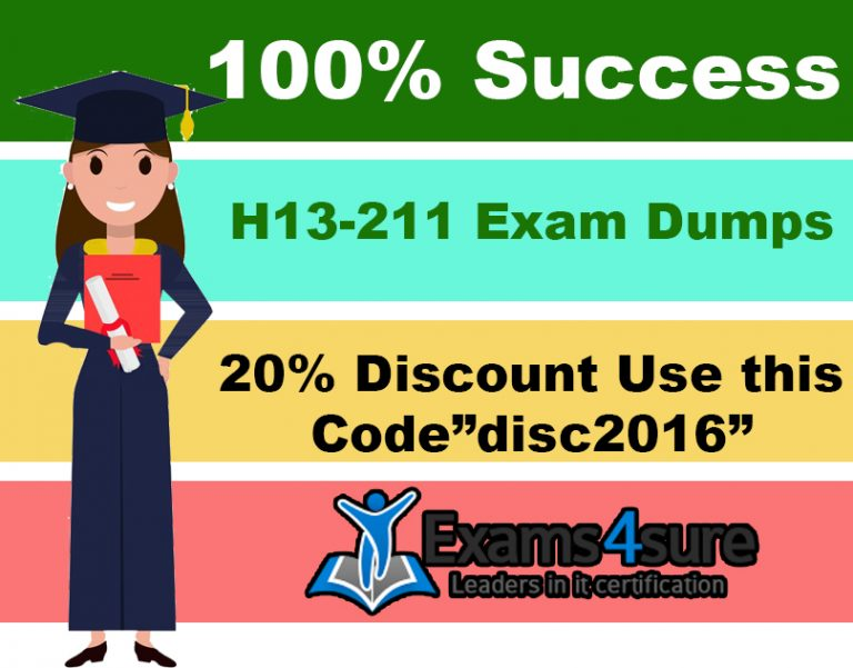Get H13-211 Exam Dumps Today | Pass Exam in Striking First Attempt