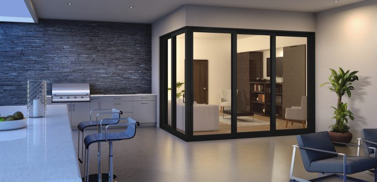 Custom interior glass doors from Herculite to add elegance and beauty to your home interiors