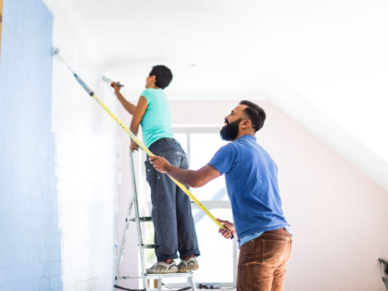 Professional painters come with a lot of benefits
