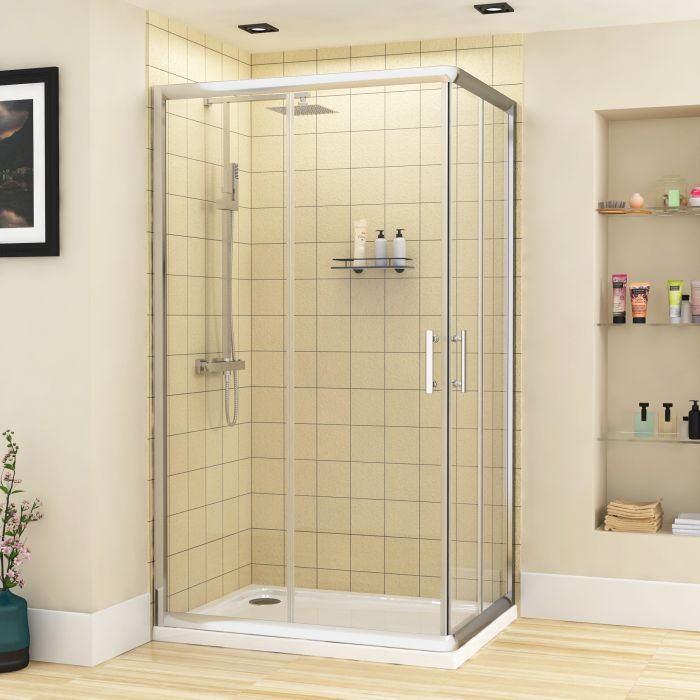 Rectangular shower trays can be in multiple sizes