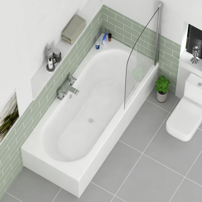 Fitting a double ended bath with panels in your washroom
