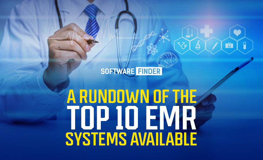 top 10 EMR systems