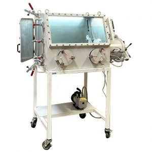 Features and applications of a stainless steel vacuum glove box